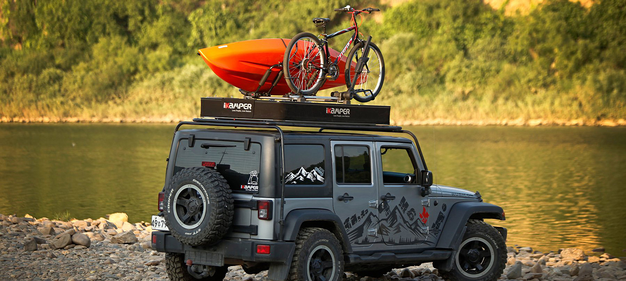 Ikamper Australia X Cover Roof Top Tent